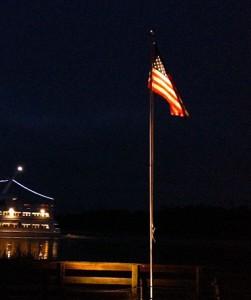 Flag at Pier